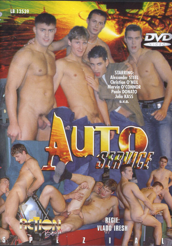 Auto Service Gay DVD Image