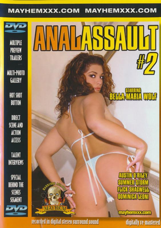 Anal Assault  2 DVD Image
