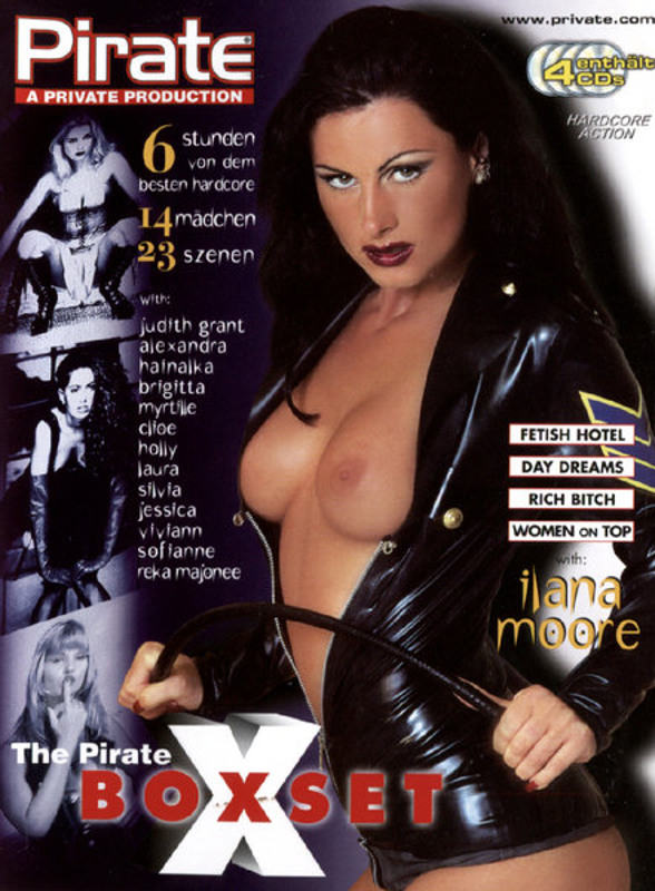 The Pirate X Boxset  [4 DVDs] DVD Image