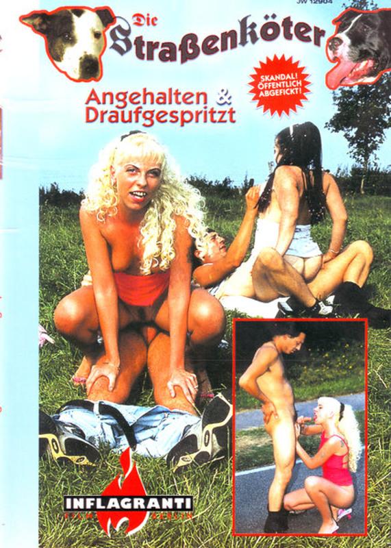 """Die Straßenköter  """"Angehalten & Draufgespritzt!"""" DVD Image"""
