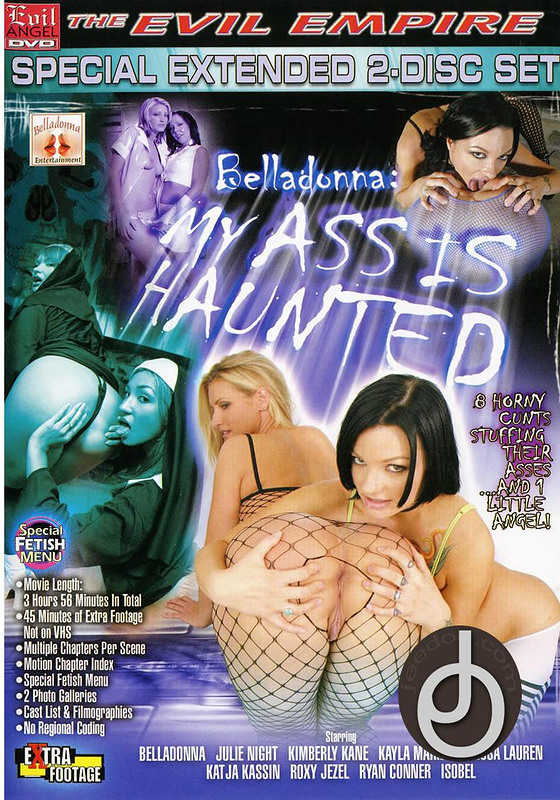 My Ass Is Haunted DVD Image