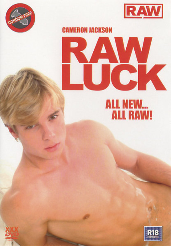 Raw Luck Gay DVD Image