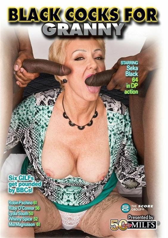 Black Cocks For Granny DVD Image