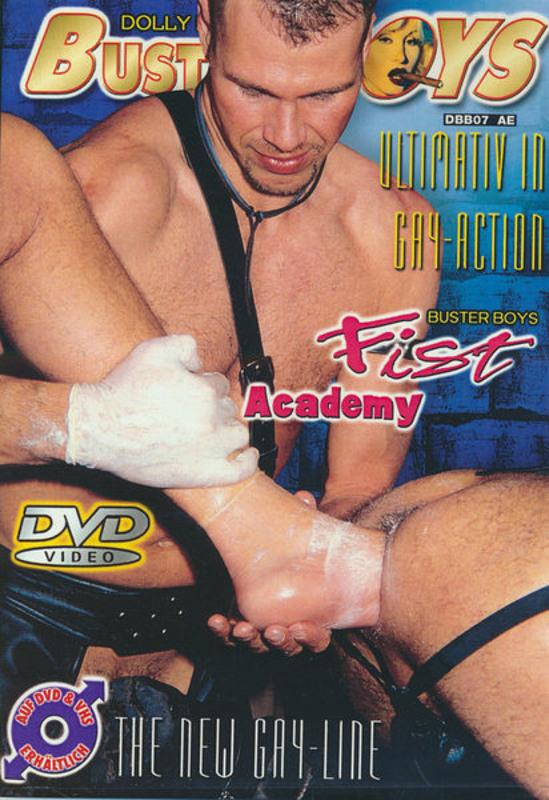 Buster Boys - Fist Academy Gay DVD Image
