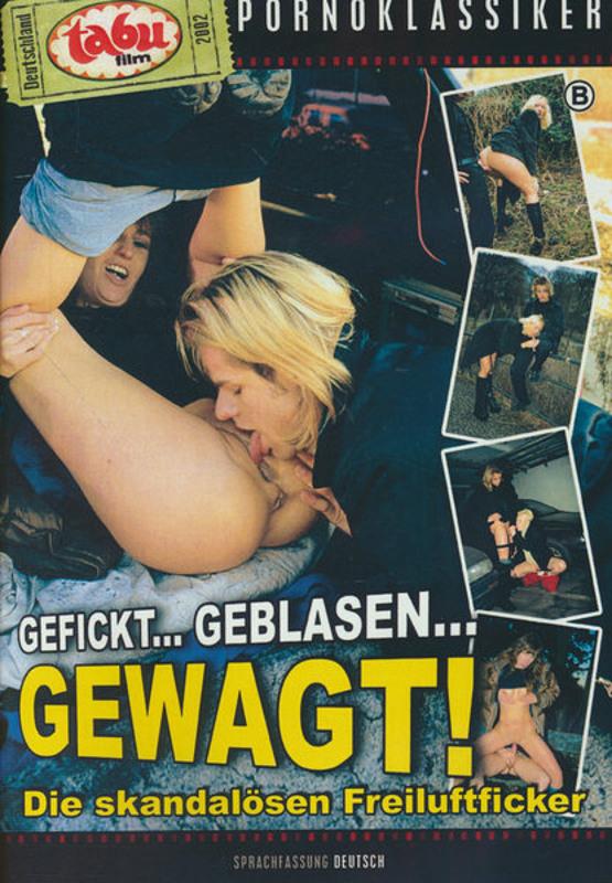 Gefickt... geblasen... gewagt! DVD Image