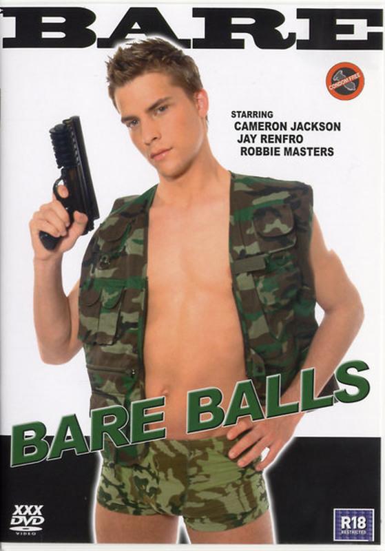 Bare Balls Gay DVD Image