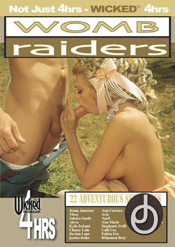 4hr Womb Raiders - Jenna DVD Image