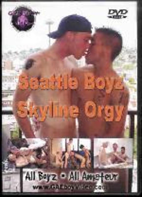 Seattle Boyz  -  Skyline Orgy Gay DVD Bild