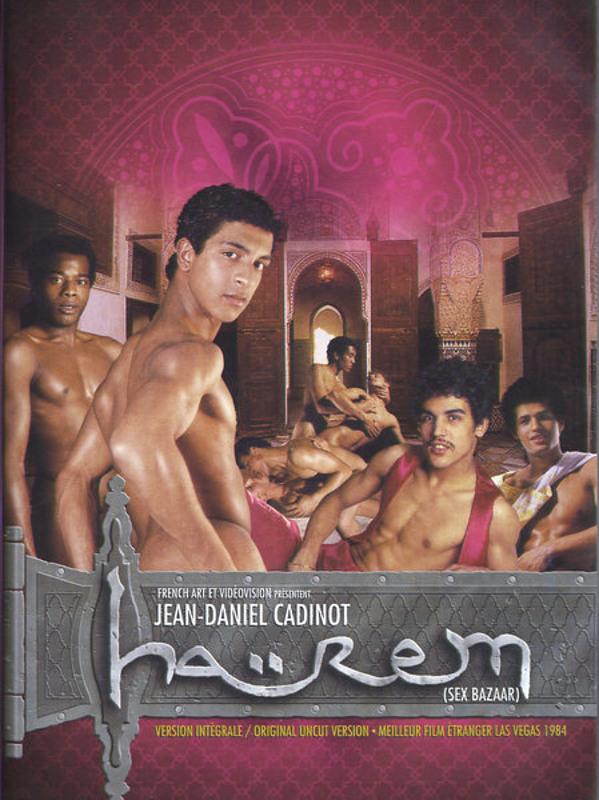 J.D.Cadinot  Harem  (Sex Bazaar) Gay DVD Image
