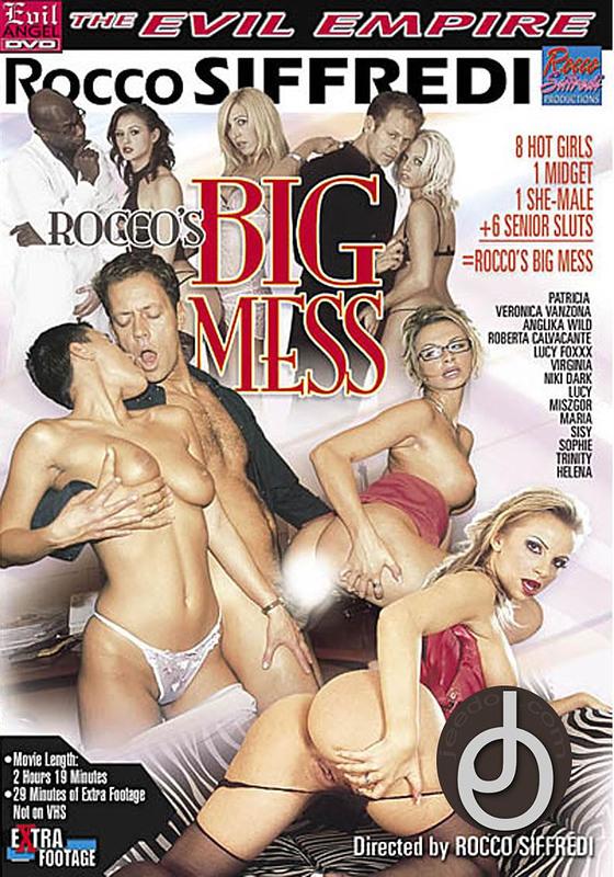 Roccos Big Mess DVD Image