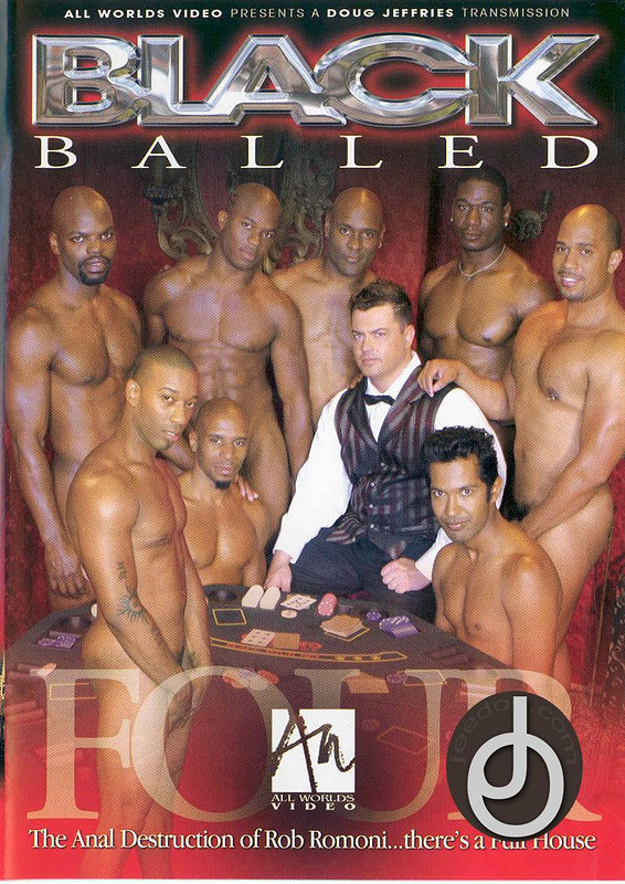 Black Balled 4 Gay DVD image