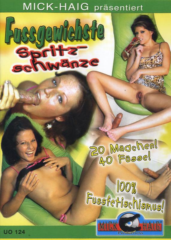 Fussgewichste Spritzschwänze DVD Image