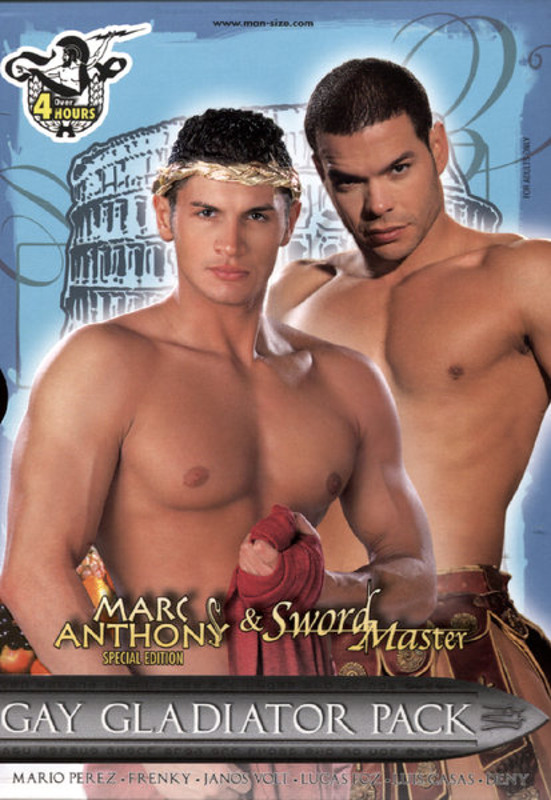 Gay Gladiator Pack  [3 DVDs] Gay DVD Image