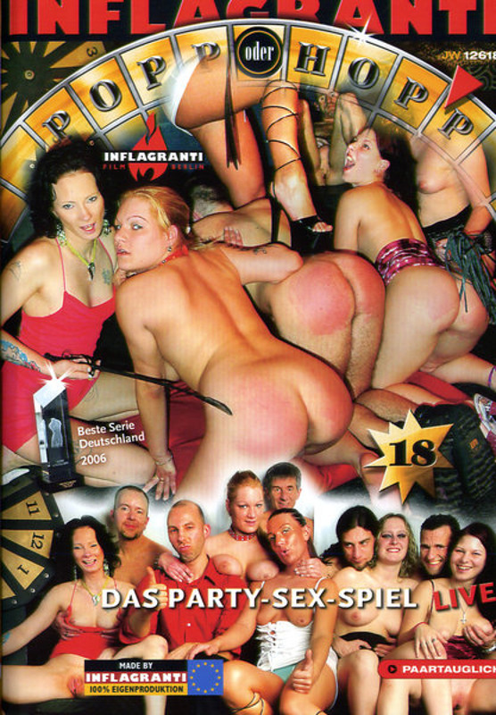 Popp oder Hopp 18 Das Party-Sex-Spiel DVD Image