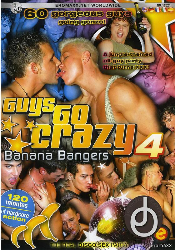 Guys Go Crazy 4 Gay DVD Image