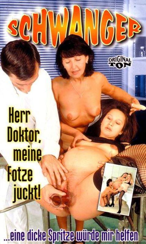 Schwanger - Herr Doktor, meine Fotze juckt! VHS-Video Image