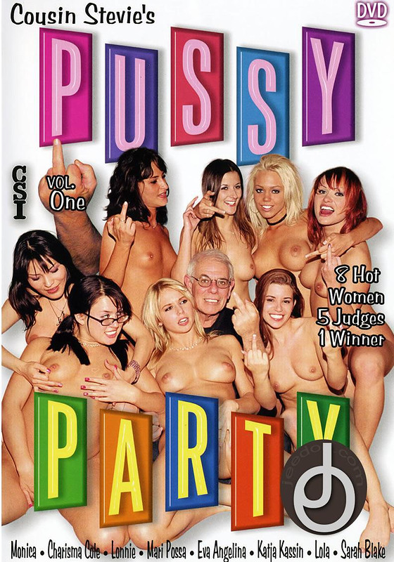 Pussy Party 1 DVD Image