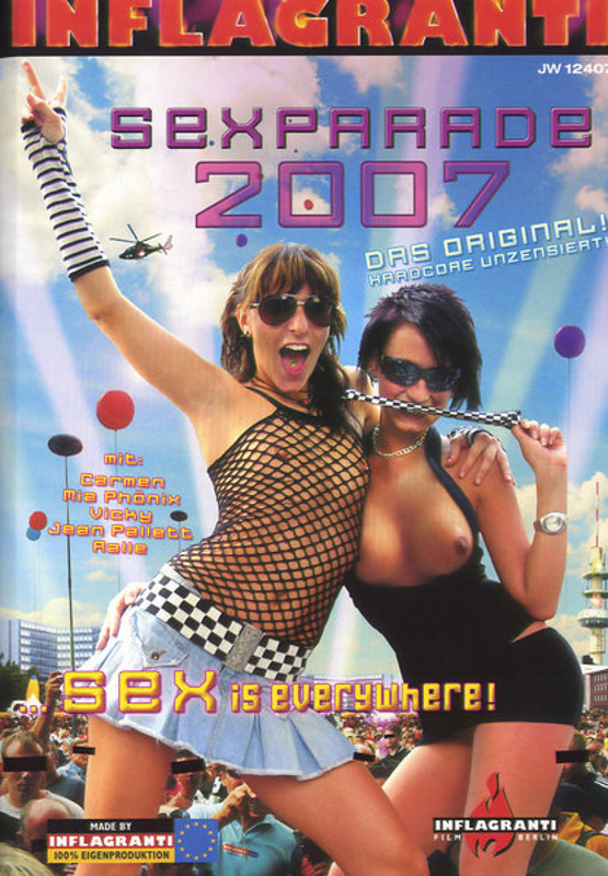 Sexparade 2007 - Sex Is Everywhere! DVD Image