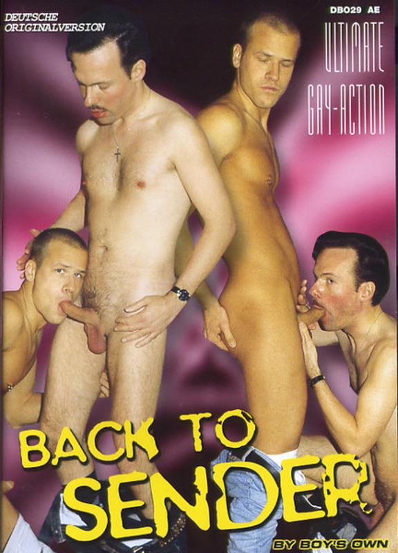 Back To Sender Gay DVD Image