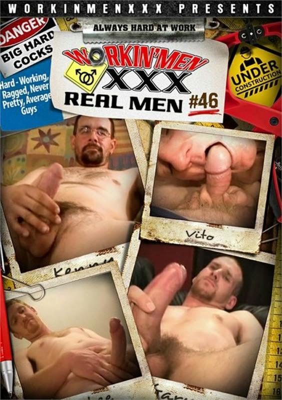Real Men 46 Gay DVD Image