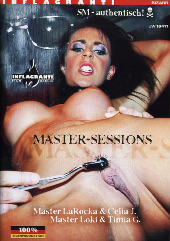 Master-Sessions - Master LaRocka & Celia... DVD Image