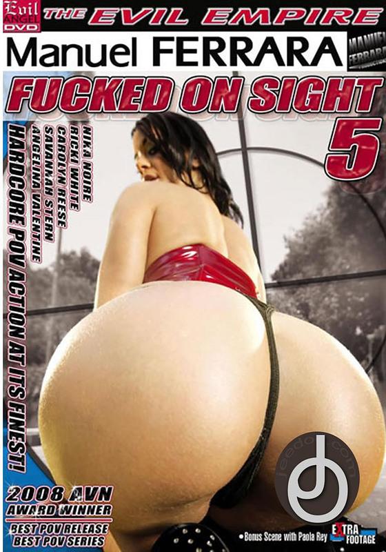 Fucked On Sight 5 DVD Image