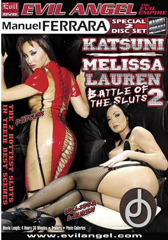 Katsuni Melissa Lauren Battle Of The DVD Image