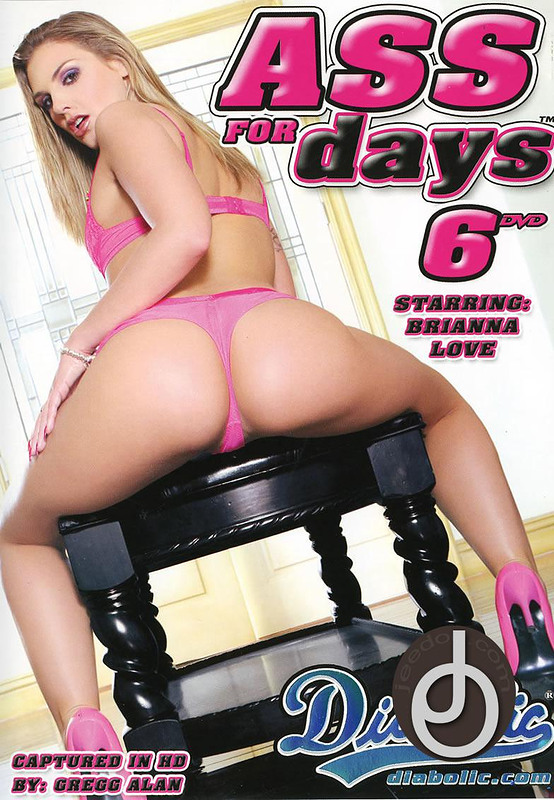 Ass For Days 6 DVD Image