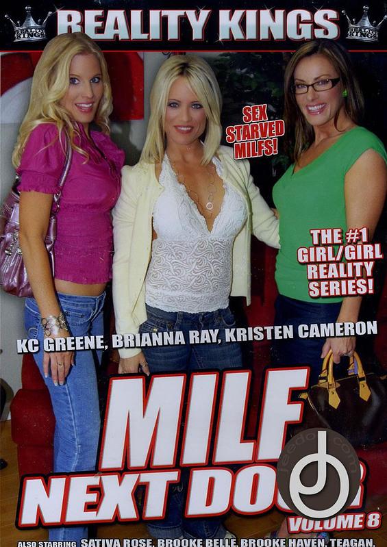 Milf Next Door 8 DVD Image