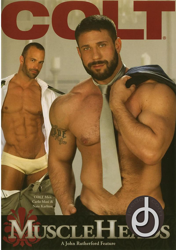 Muscle Heads Gay DVD Image