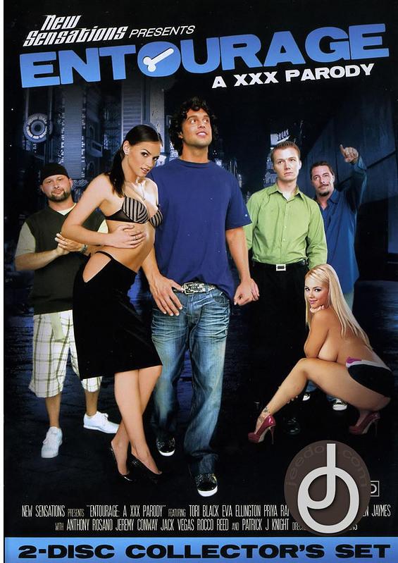 Entourage A Xxx Parody DVD Image