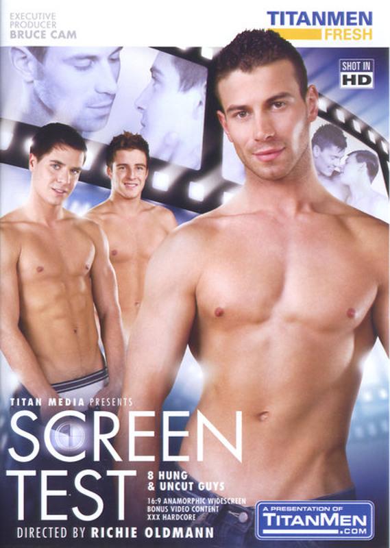 Screen Test Gay DVD image