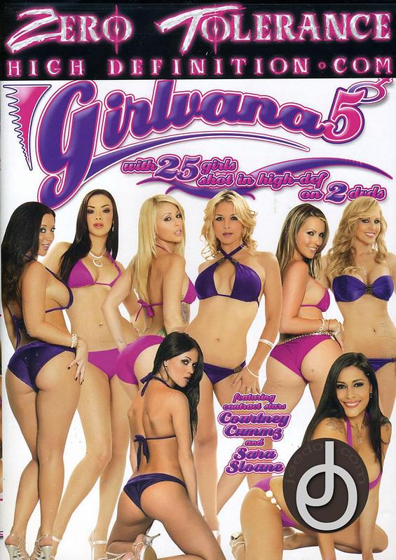 Girlvana 5 DVD Image