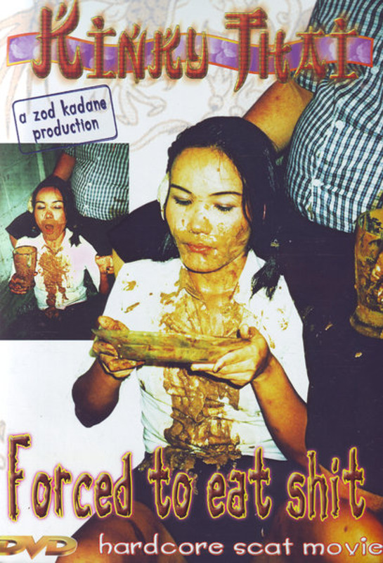 Kinky Thai Forced To Eat Shit DVD Image