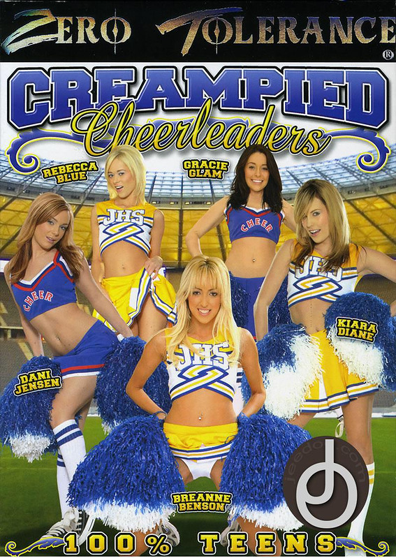 Creampied Cheerleaders DVD Image