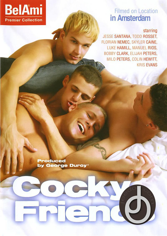 Cocky Friends Gay DVD image