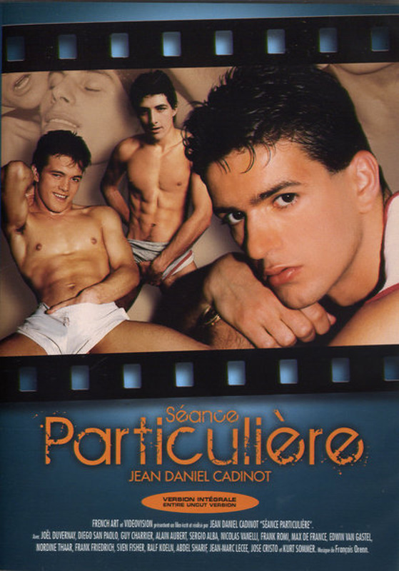 Seance Particuliere Gay DVD Image