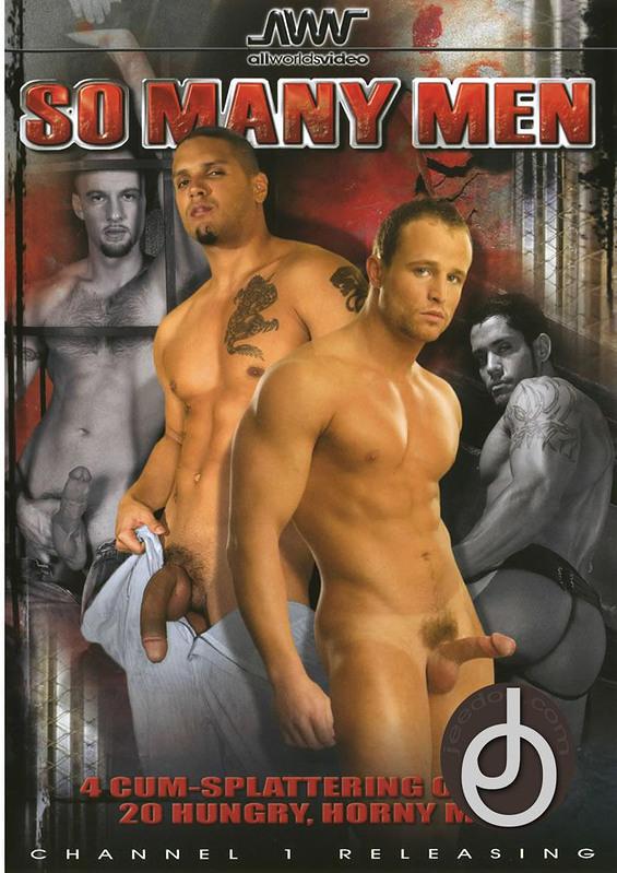 So Many Men Gay DVD Image
