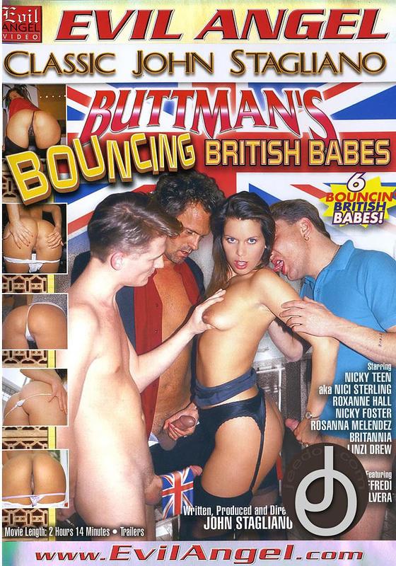 Buttmans Bouncing British Babes DVD Image