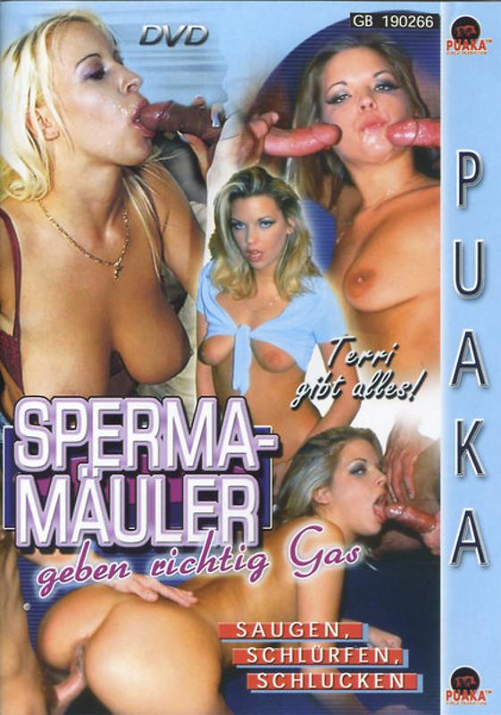 Spermamäuler geben richtig Gas DVD Image