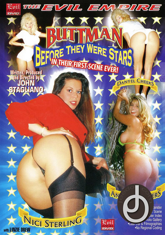 Buttman Before They Were Star DVD Image