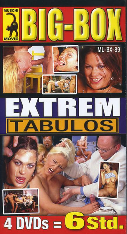 Big-Box Extrem Tabulos  [4 DVDs] DVD Image