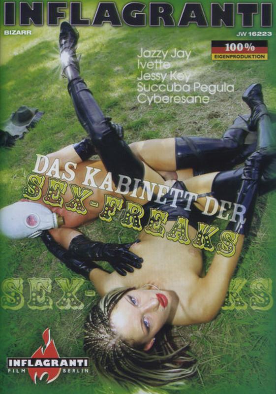 Das Kabinett der Sex-Freaks DVD Image