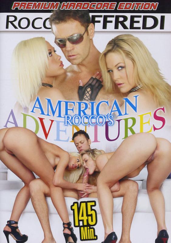 Rocco's American Adventures DVD Image