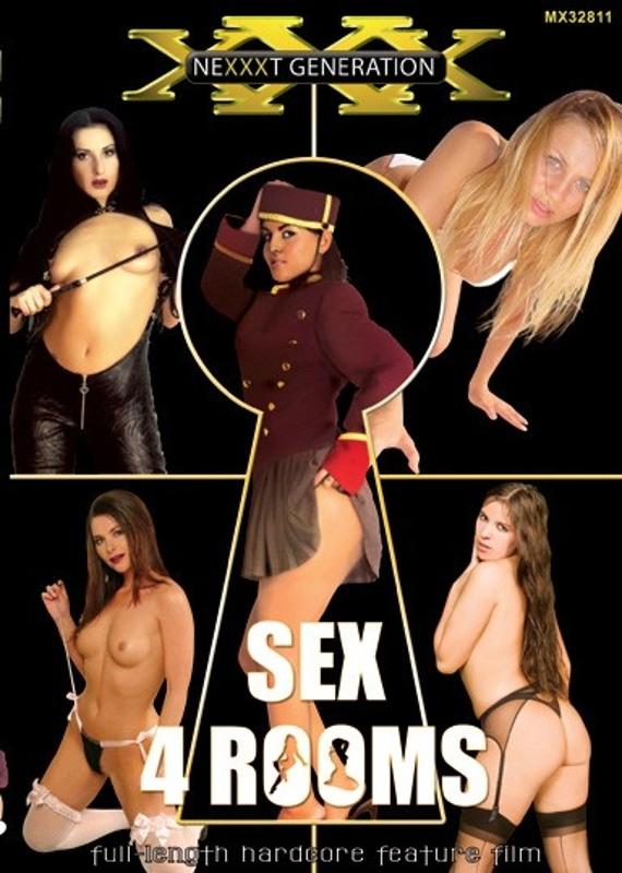 Sex 4 Rooms DVD Image