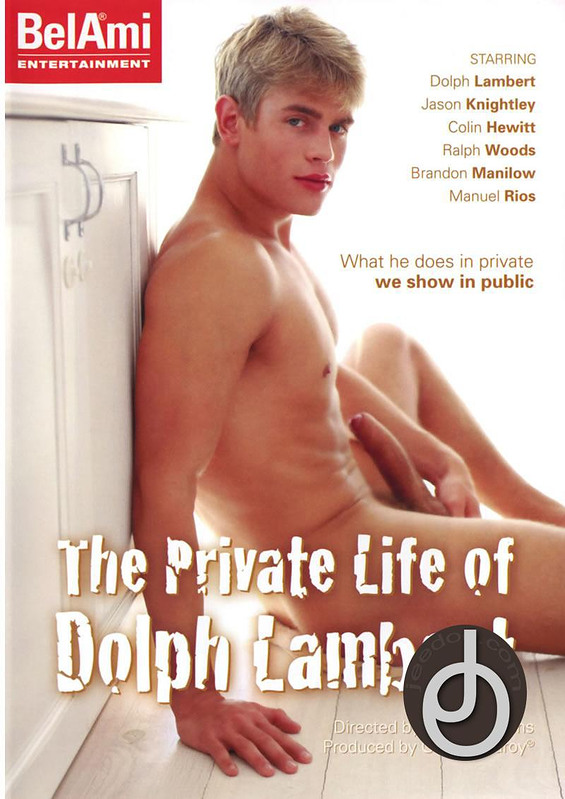 Private Life Of Dolph Lambert Gay DVD Image