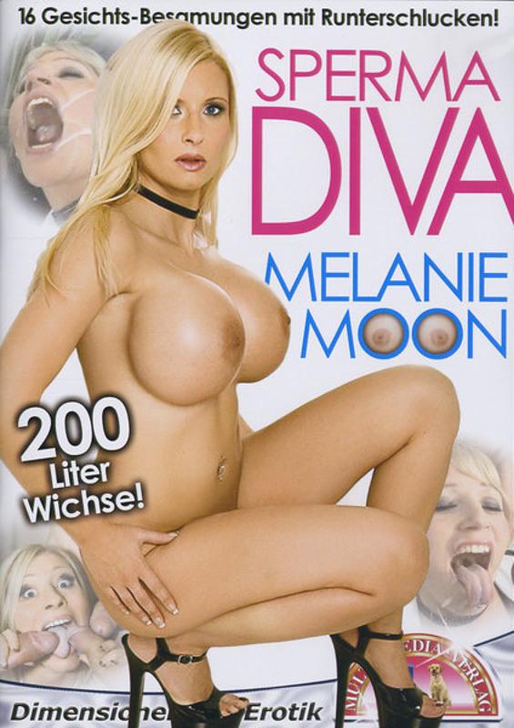 Sperma Diva - Melanie Moon DVD Image