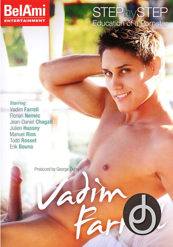 Step By Step Vadim Farrell Gay DVD Image