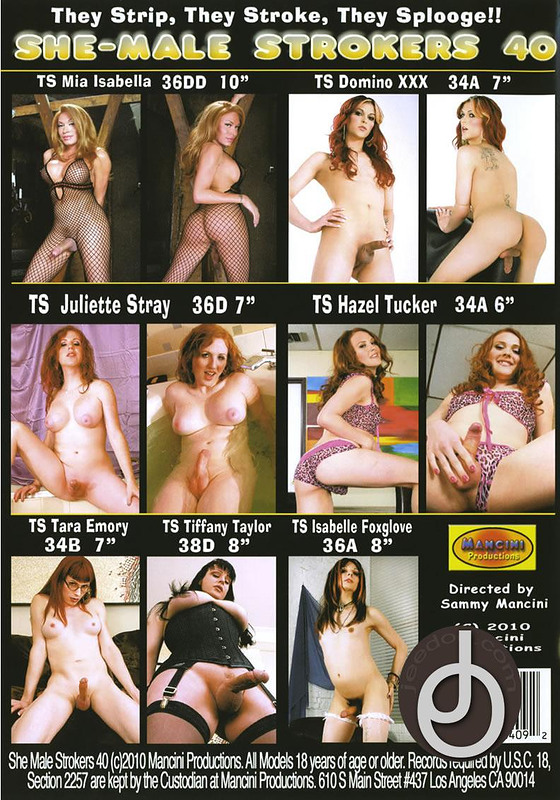 Shemale Strokers Dvd 102