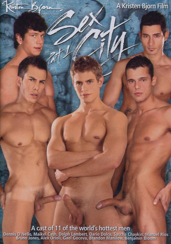 Sex City  1 Gay DVD Image